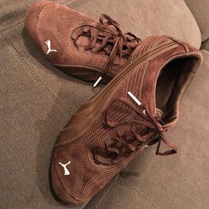 PUMA Brown Suede Retro Sneakers Size 10 (41)